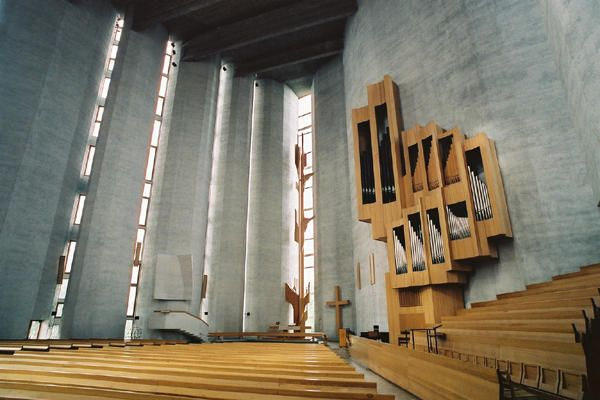 カレヴァの教会 Kareva Church (1966) Reima Pietila/ Tampere Finland No.8/26の画像:北欧建築ゼミ アアルト