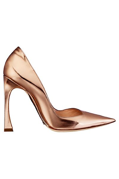Dior - Rose Gold Patent Leather Pumps - 2013 Spring-Summer