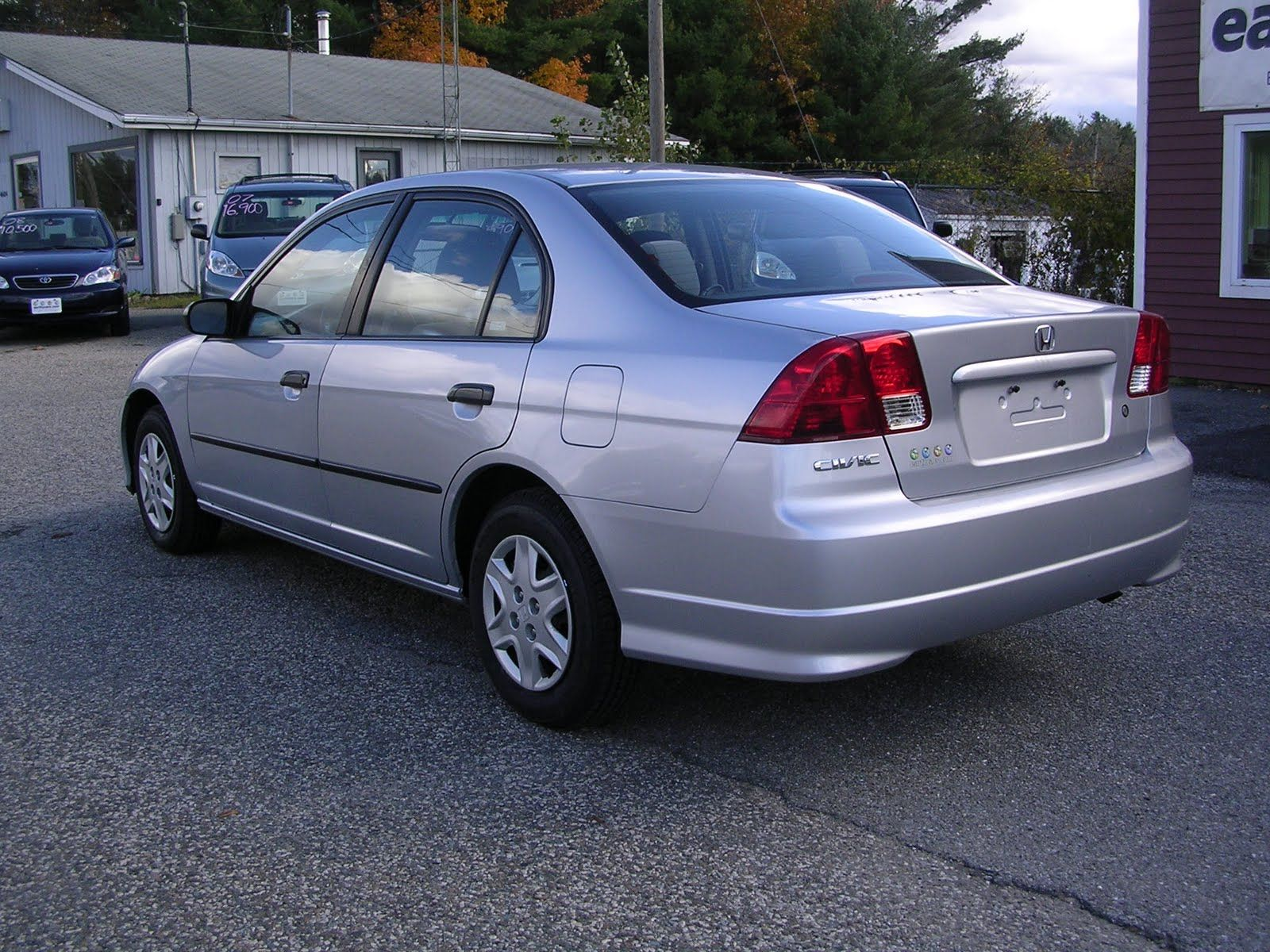 2004 honda civic Automobilismo