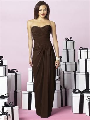 dress by after six, would like it in black for bridesmaids