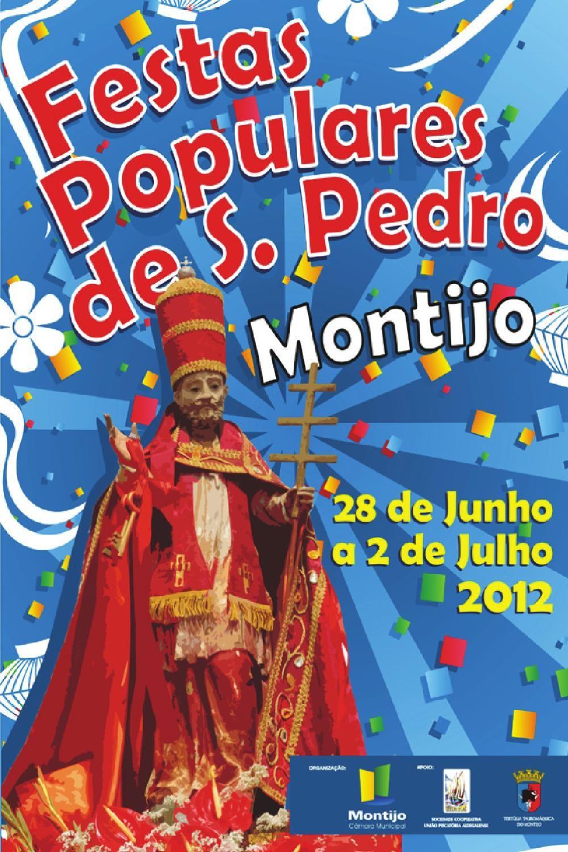 Programa Festas Populares de S. Pedro 2012  Programação das Festas Populares de S. Pedro de 2012