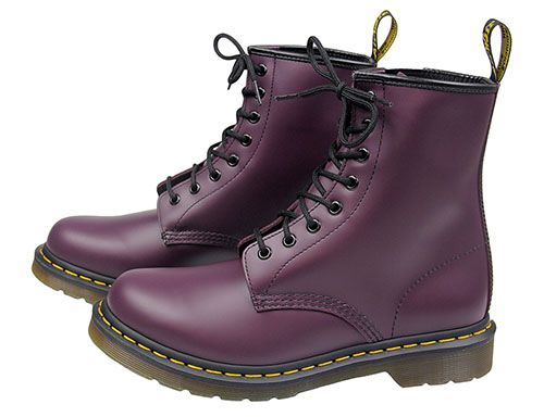 Purple Doc Martens, Smooth | Boots
