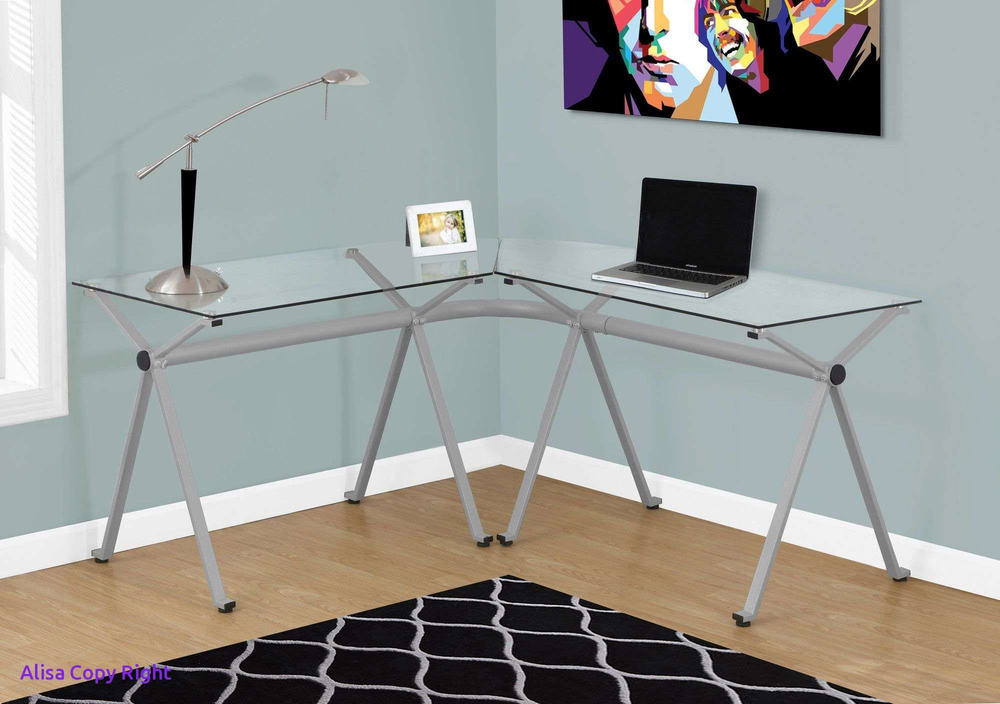 Beautiful Clear Desk Homedecoration Homedecorations