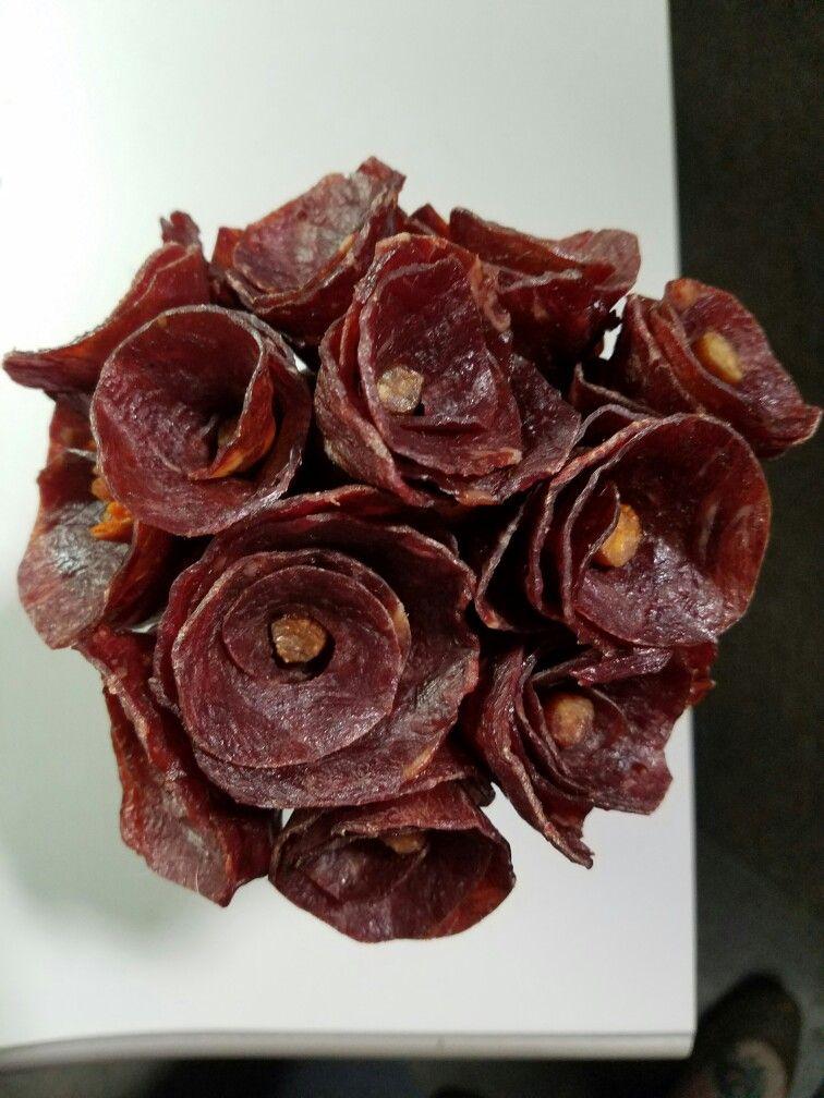 Beef Jerky Roses