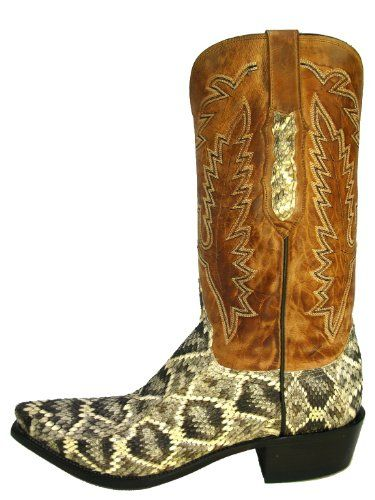 catch moderate cost many fashionable Lucchese Mens Eastern Diamondback Rattlesnake | I need this ...