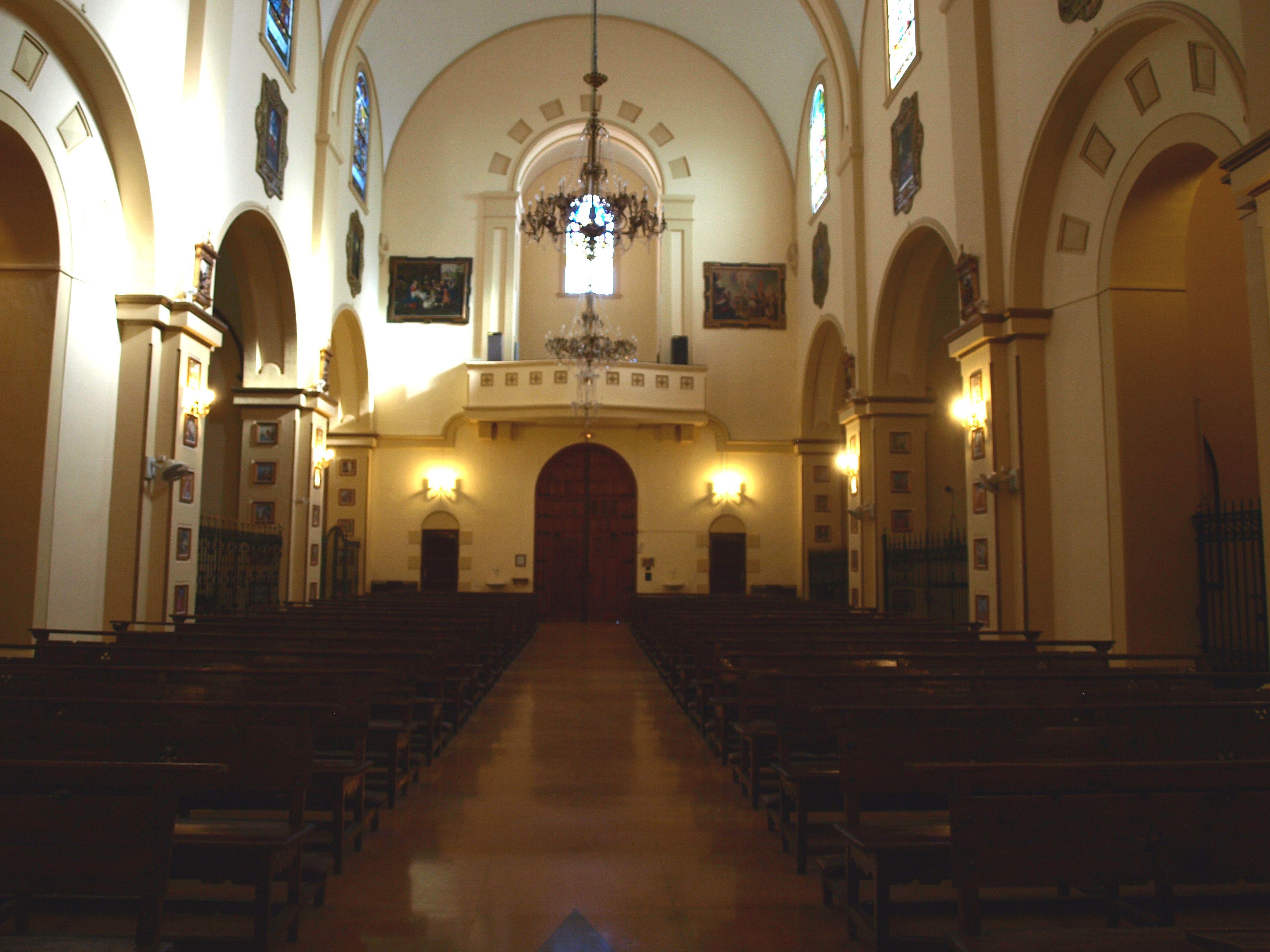 coro del Santuario de la Virgen de la Villa