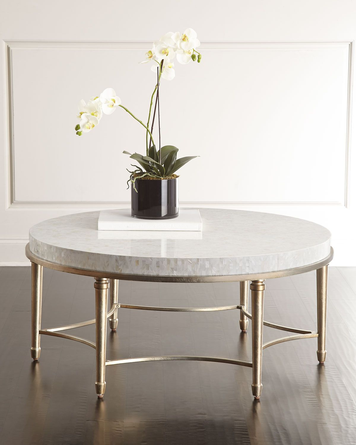 Cynthia Rowley For Hooker Furniture Aura Round Coffee Table More
