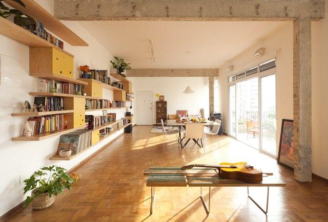我們看到了。我們是生活@家。: Zoom Urbanismo 建築師事務所重新分配空間