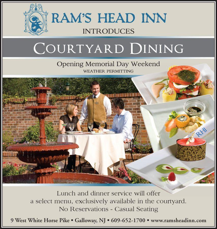 Hotel Advertisement, Graphic Design New Jersey, NJ, Ram's Head Inn ...