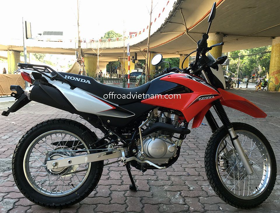 Elegant Offroad Vietnam Dirt Bike Rental   Honda XR150 150cc In Hanoi. 2016 Honda  Dirt (trail) Bike Honda XR150 150cc Red U0026 White, Front Disc Brake, Back  Drum Brake