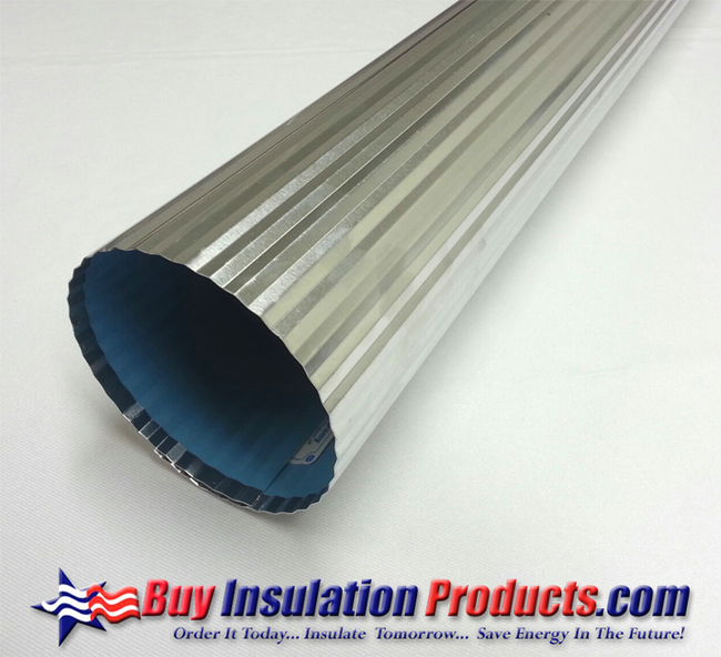 Aluminum Pipe Insulation : Corrugated stucco embossed aluminum jacketing buy