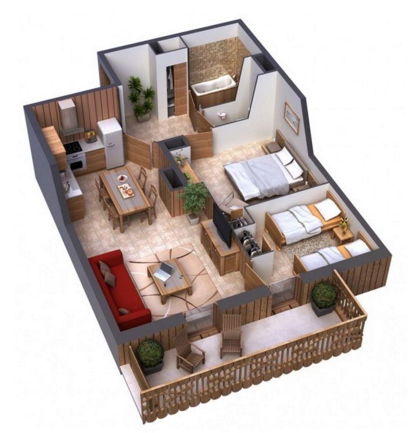 альтернатива дом на пять комнат фото видела