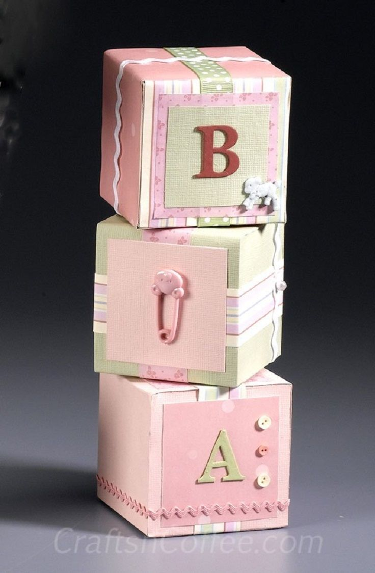 Decorative Baby Blocks