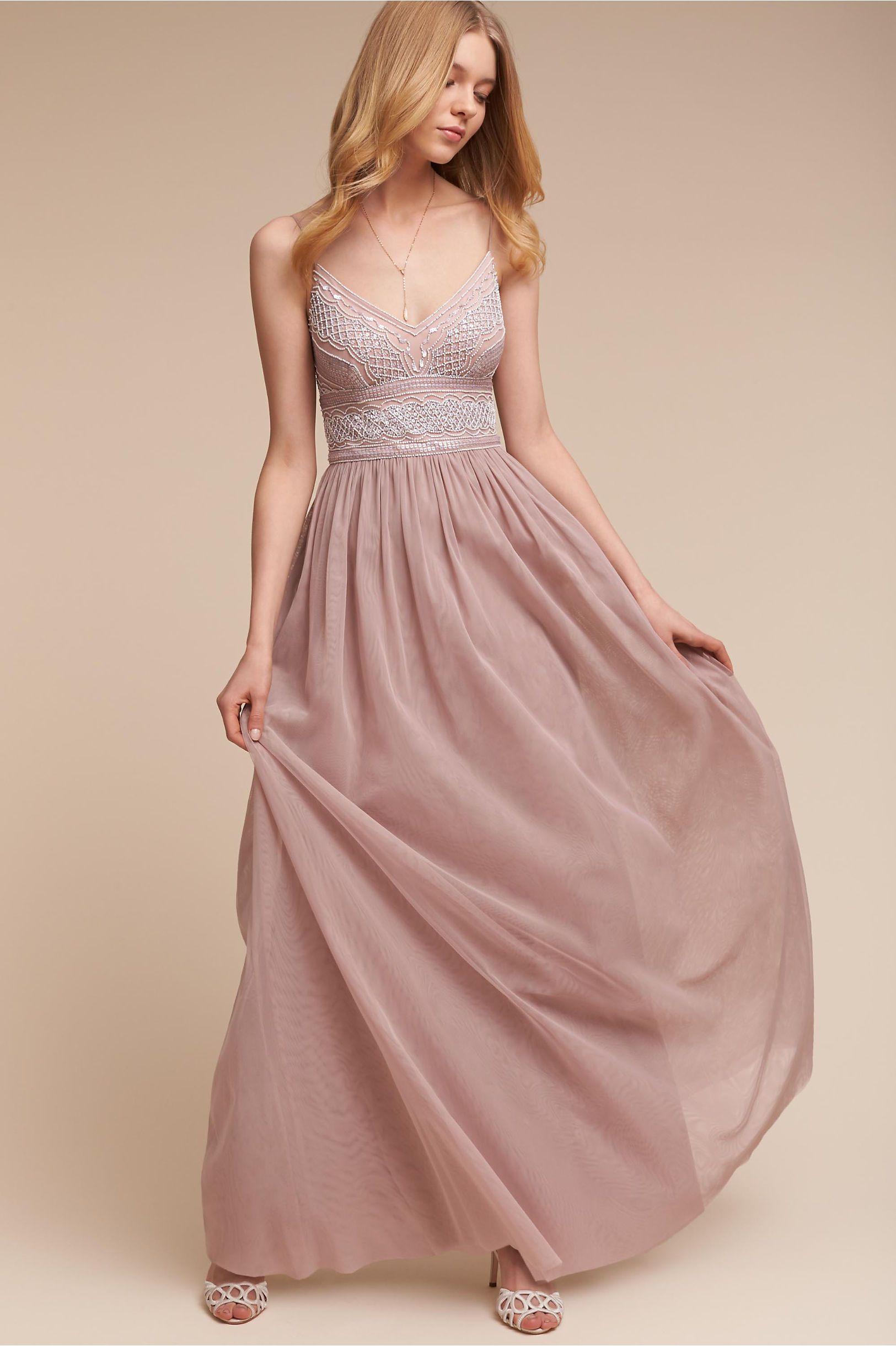 BHLDN Aida Dress in Bridesmaids Bridesmaid Dresses | BHLDN | A Pink ...