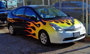 58 Chevy 2 Door Hardtop Vs Prius Smart Car Hot Rods You