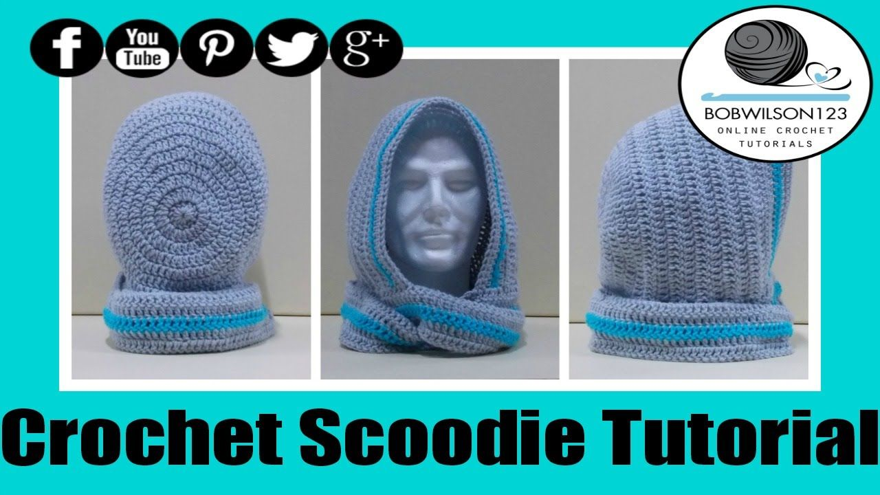 Crochet Scoodie Rounded Hood - with written pattern | Accesorios ...