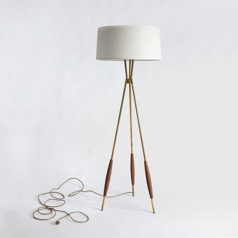 Mulberry Tripod Floor Lamp for $599 retail from Schoolhouse Electric ...