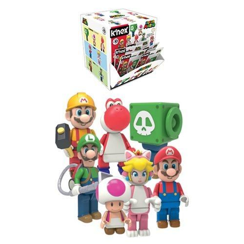 "K/'NEX SUPER MARIO FIGURE SERIES /""TOAD/"" COMPLETE YOUR COLLECTION!"