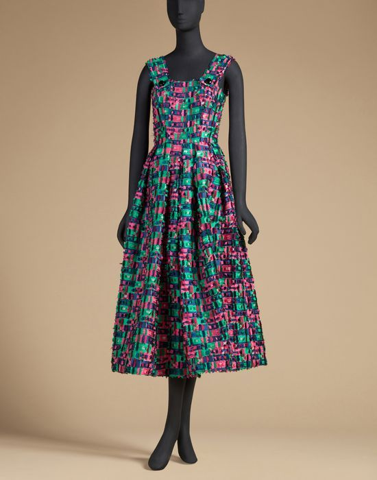 97c271fa308f1 SUNDRESS IN SILK FIL COUPÉ - 3 4 length dresses - Dolce Gabbana - Summer  2016