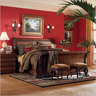 Aspen Napa Sleigh Bed Furniture And Home Design In Houston Star Furniture Sales Rep Hartley C Traditional Bedroom Furniture Furniture Sleigh Bedroom Set