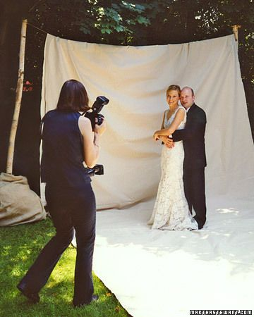 hiring a photographer martha stewart weddings planning tools