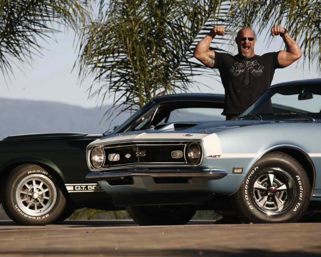 Bill Goldberg\'s amazing muscle car collection | Wwe wrestlers ...