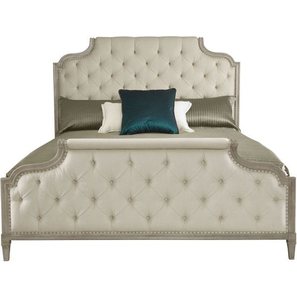 Upholstered Bed | Bernhardt ❤ liked on Polyvore | A Scoop of Lady ...