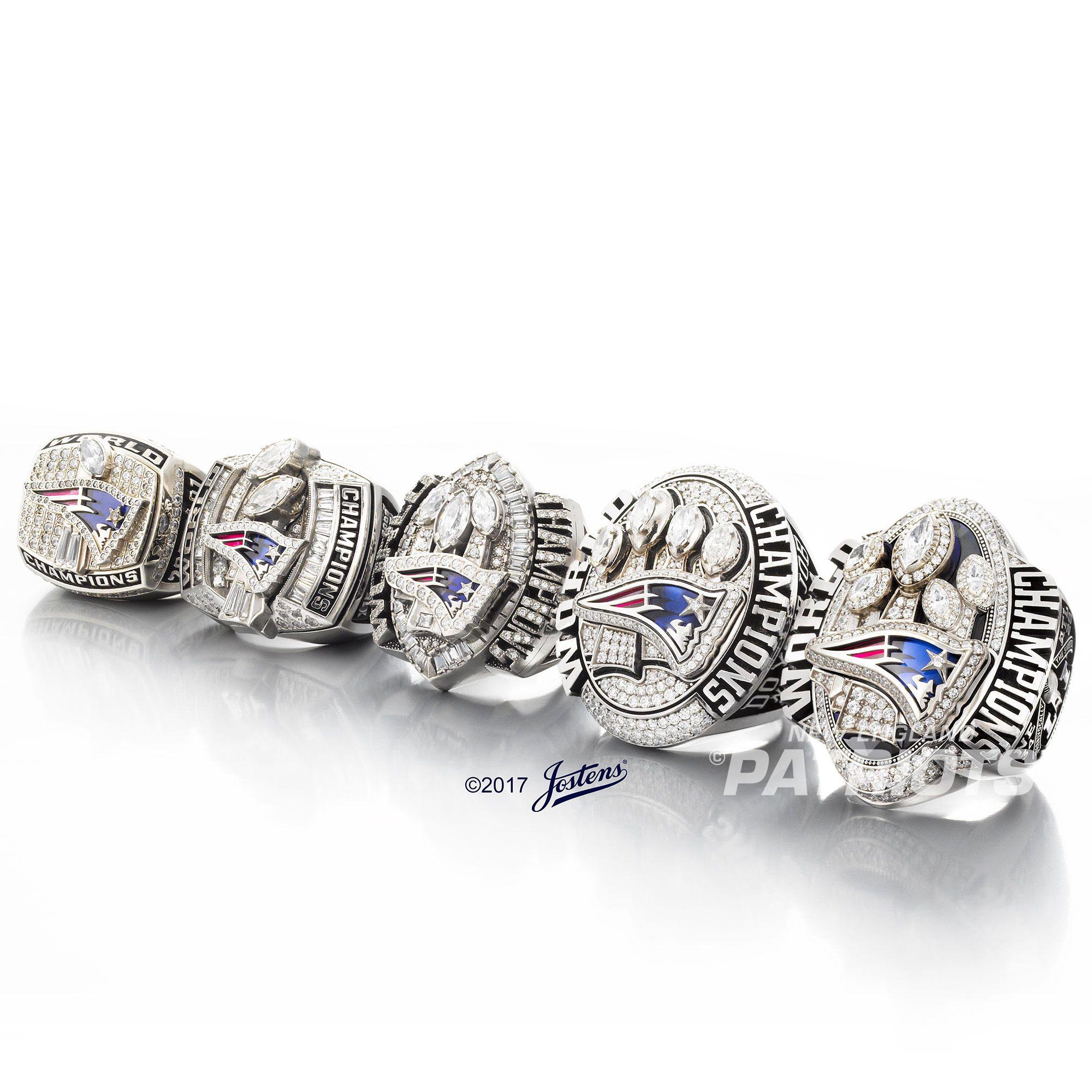Photos Super Bowl Li Ring Super Bowl Rings Patriots New England Patriots