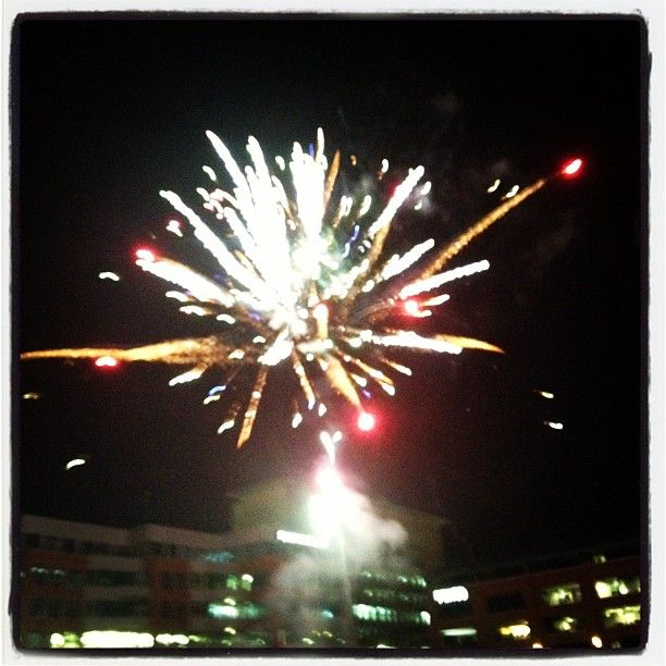 Fireworks at the DBAP!