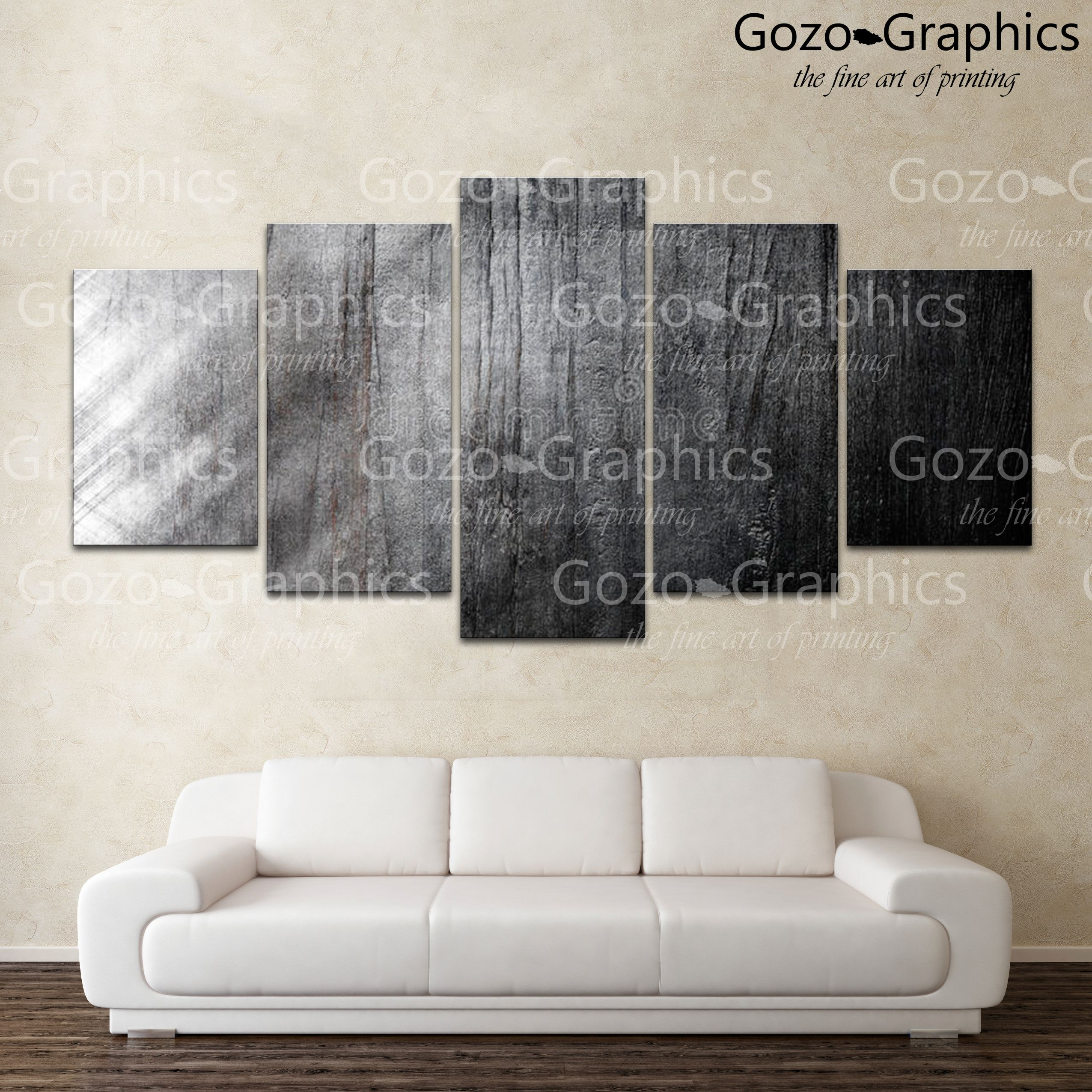 00905 black and white gozo graphics canvas compositions