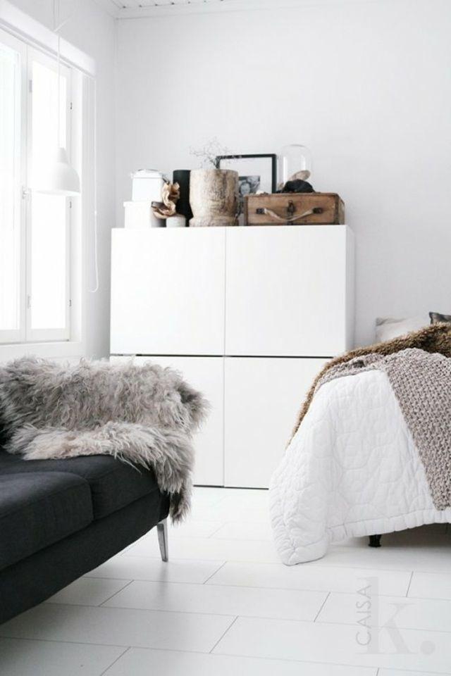 Meuble Besta Ikea : un système de rangement modulable   Rangement ...