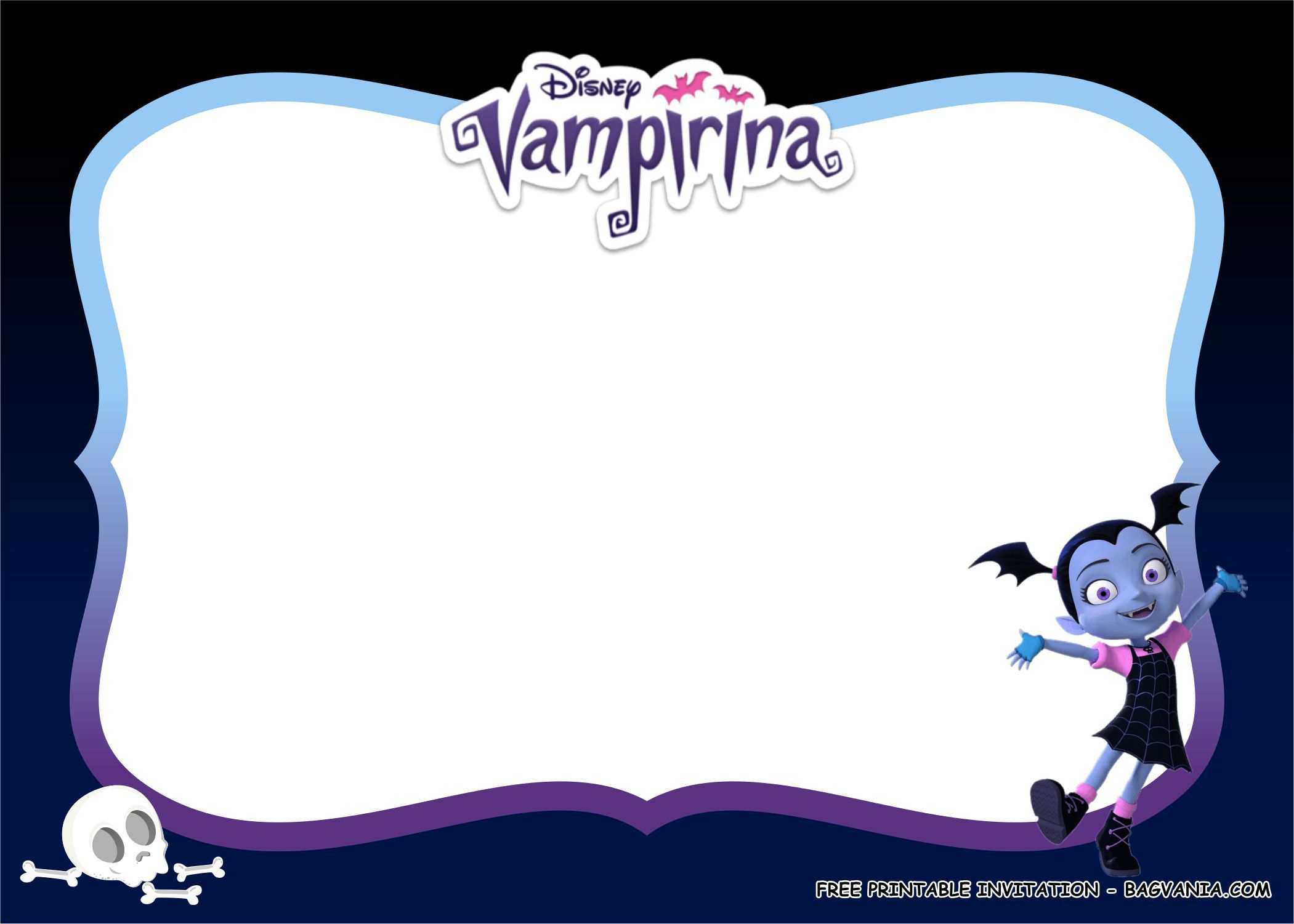 FREE PRINTABLE) - Vampirina Birthday Party Kits Template