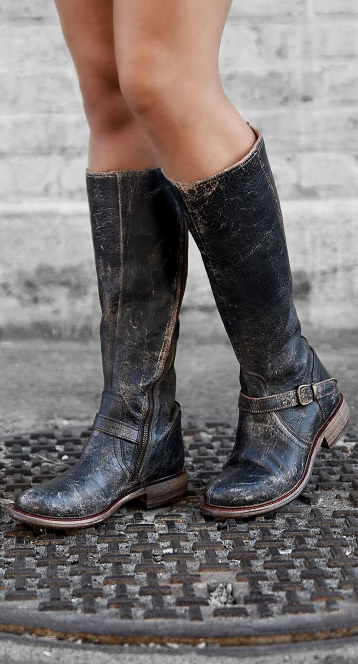 Boots, Leather boots, Riding boots
