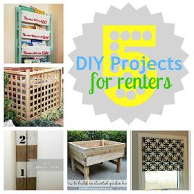 Gifts We Use: 5 DIY Projects for Renters