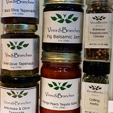 Olive Oils, Balsamic Vinegars and Specialty Foods| Vines & Branches