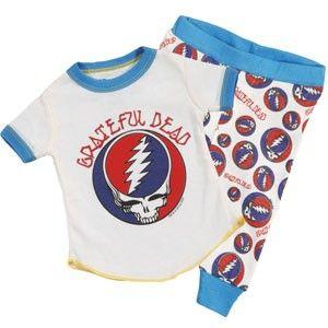 Grateful Dead Head Baby Infant ONESIE ® Tie Dye Bodysuit Hippy Baby Dance Bear