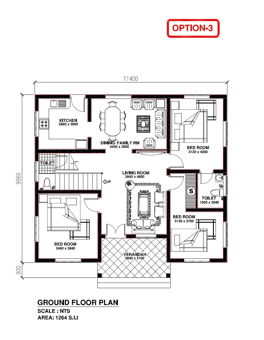 House Of Kerala Model Model House Plan Free House Plans Drawing House Plans