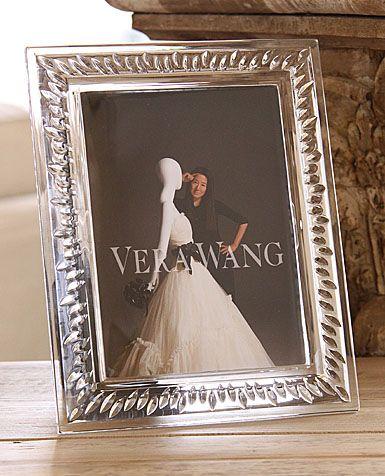 Wedgwood Vera Wang Duchesse 5x7 Frame Wedding Reg Vera Wang Wedgwood 5x7 Frames