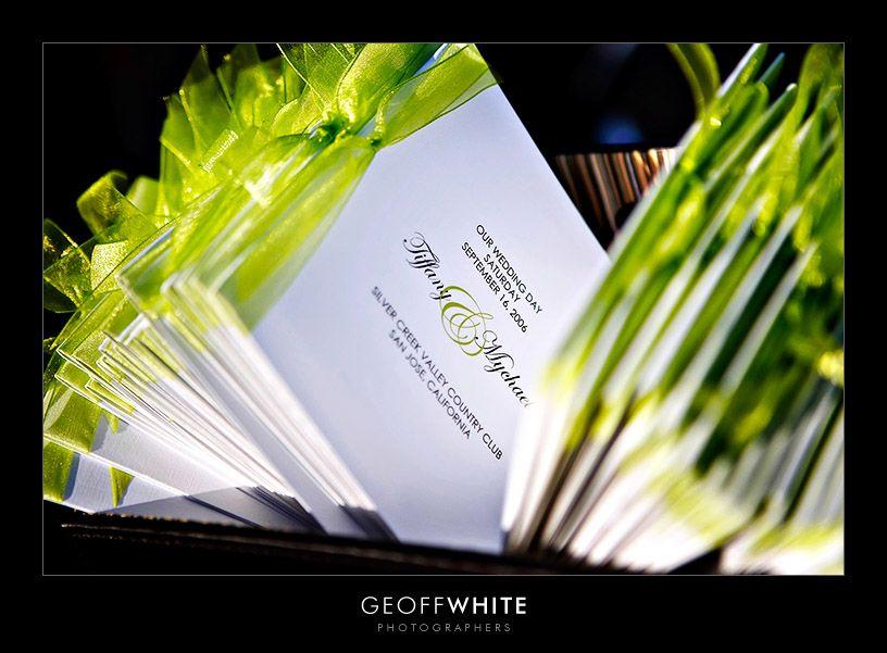 Photo via | Pinterest | Green weddings, Ceremony programs and Weddings