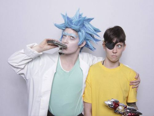 Rick And Morty Evil Morty Mens Costume