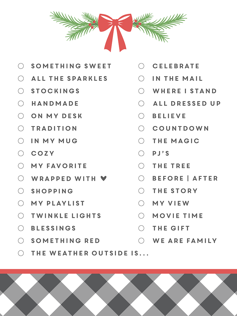 I can't even believe December is here already! Let's embrace it - the fun, the stressful and everything in between. So many memories to make and stories to tell