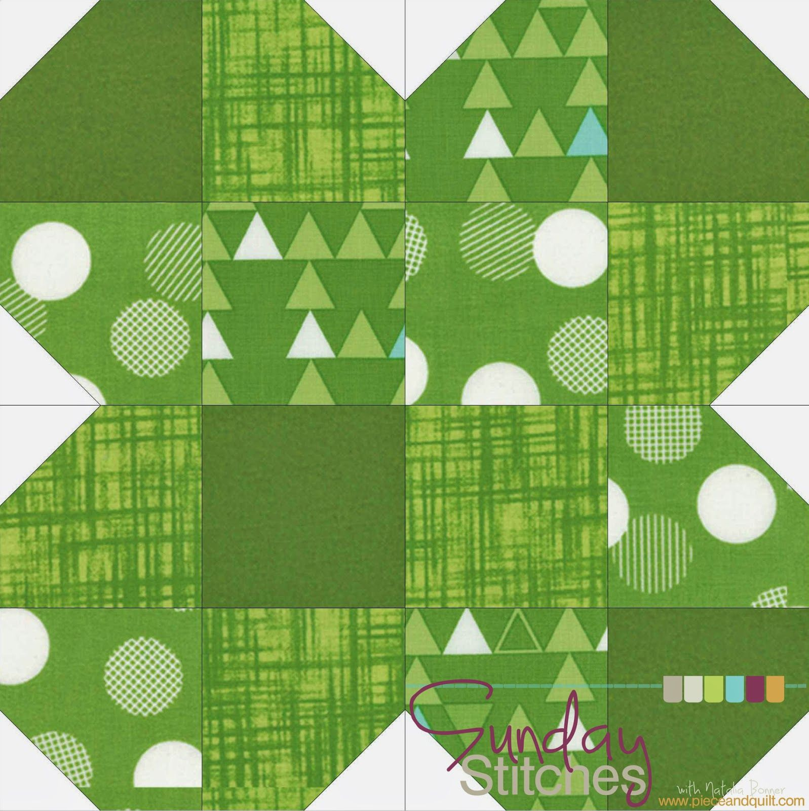 3/2016 : 4-H clover block for my Farm Girl Vintage quilt! Came ... : clover quilting - Adamdwight.com