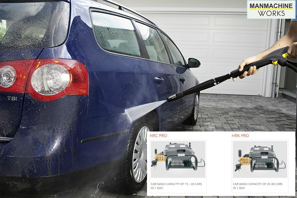 Manmachine works provides car washer equipment which is