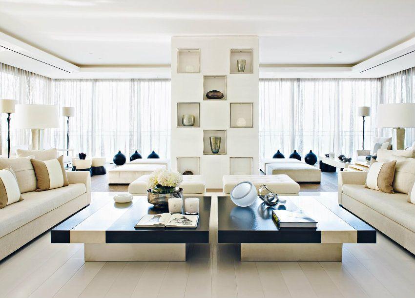 Top 10 Innenarchitektur Projekte von Kelly Hoppen Interiors
