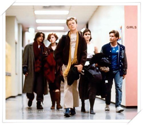 The Breakfast Club • director John Hughes