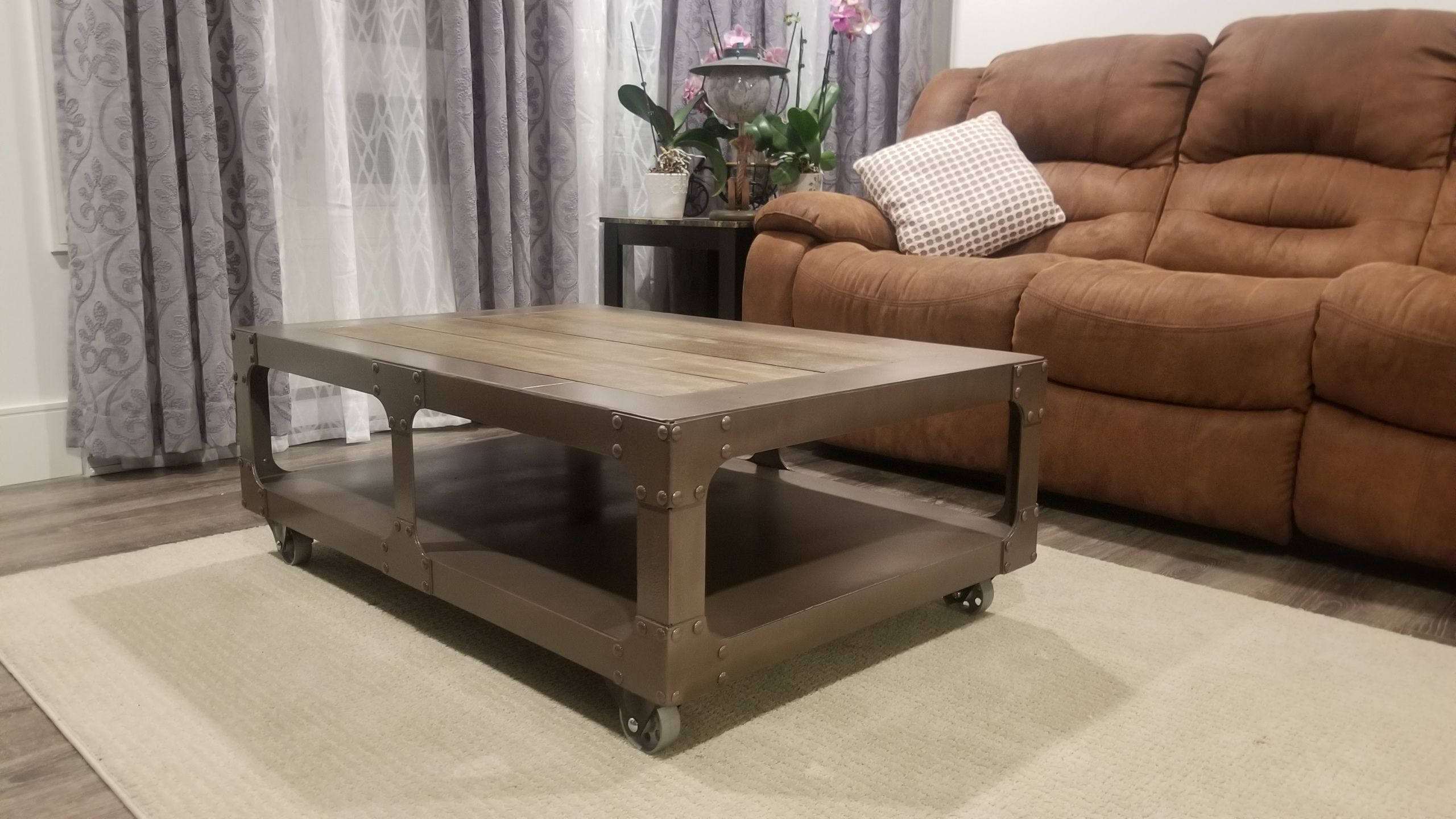 Coffee Table By Georges Leger From Gl Steelfab Halifax Nova Scotia Canada
