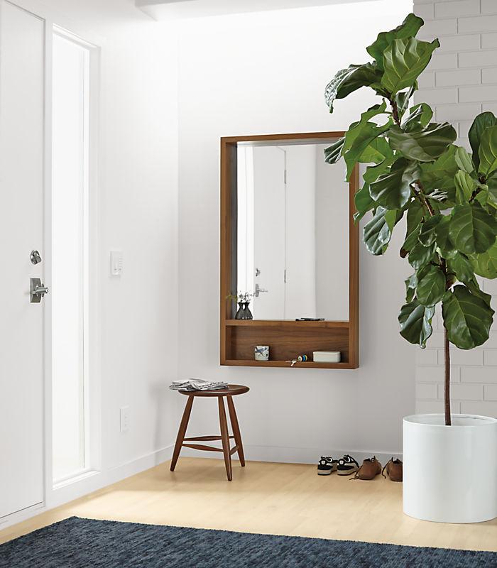 Loft Modern Mirrors With Shelf Modern Mirrors Modern Office Furniture In 2020 Loft Wall Wall Mirror With Shelf Mirror With Shelf