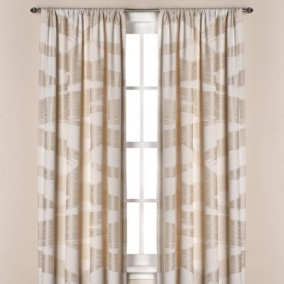 Kenneth Cole Reaction Home Brushstroke Window Panel In Ivory