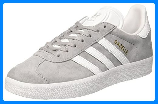 adidas Damen Gazelle Laufschuhe, Grau (Mid Grey /Ftwr White ...