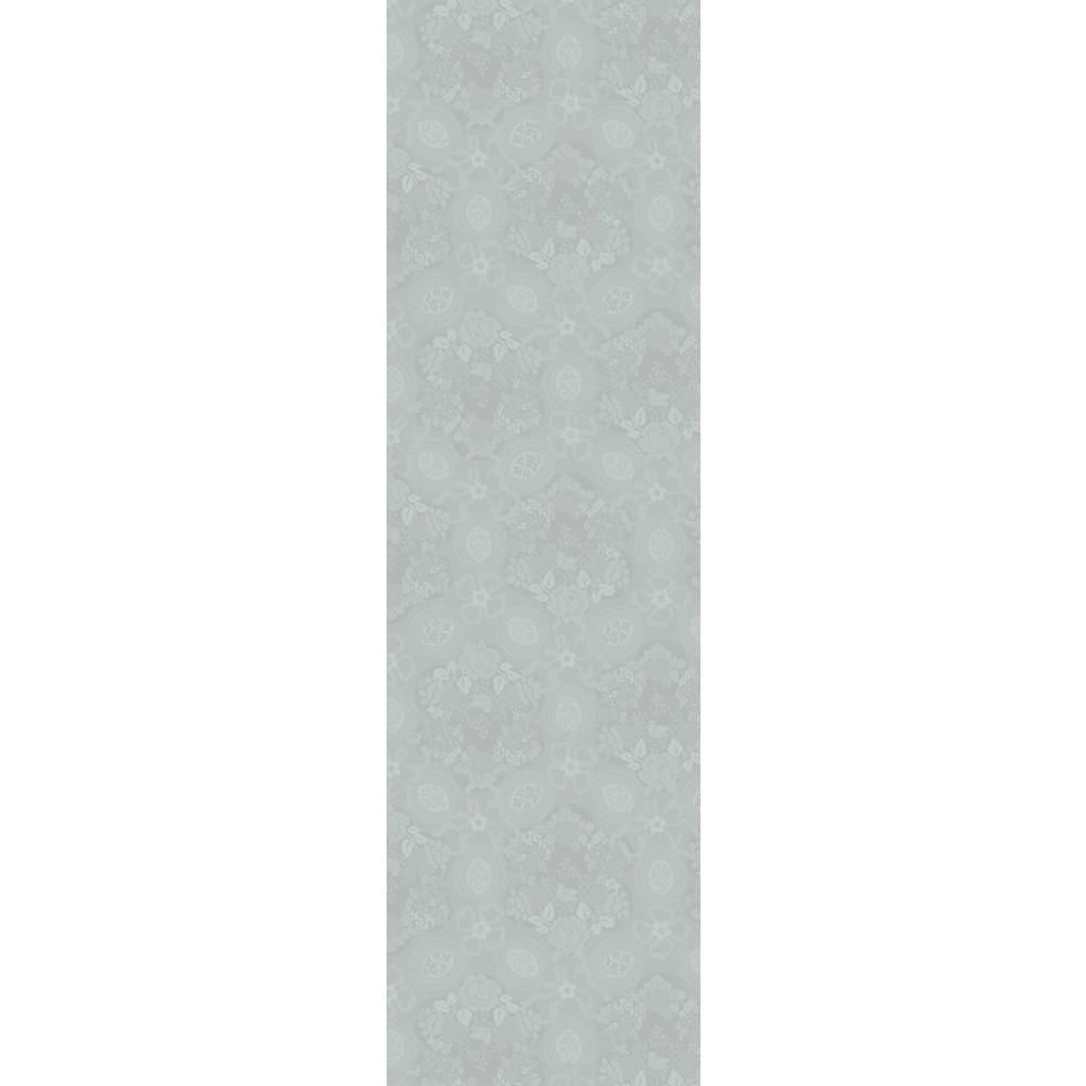 Mille Datcha Brise (Grey) Linen Table Runner